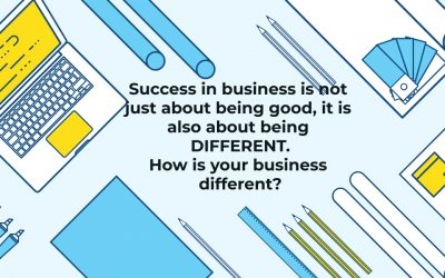 Key to business growth is how you differentiate from competitors in target markets.